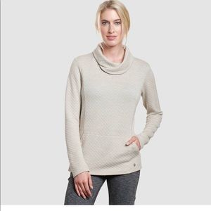 NWT Kuhl Athena pullover Taupe dove small
